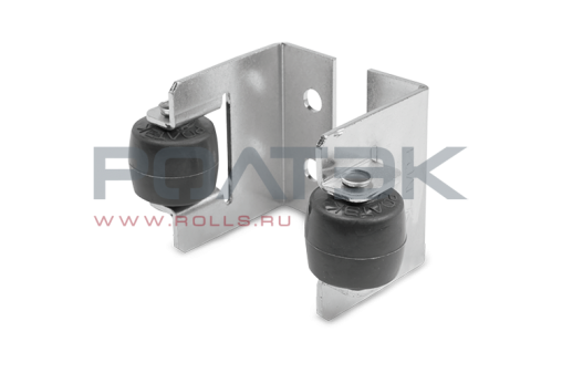 Улавливатель верхний роликовый составной для откатных ворот РОЛТЭК