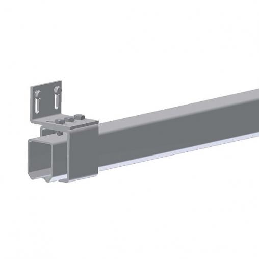 Кронштейн направляющего рельса для подвесных ворот DB 33/42/57