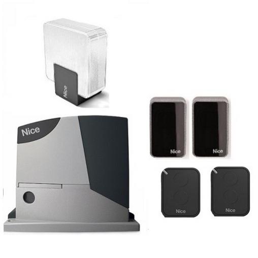Комплект автоматики для откатных ворот NICE RD400KIT2 - полный комплект