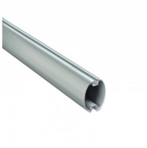 Стрела из окрашенного алюминия полуовальная. Размеры стрелы 69*92*4150 мм.