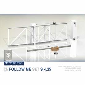 Комплект для откатных телескопических ворот Follow Me 4.25