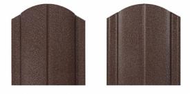 Металлический штакетник для забора Макси матовый, двухсторонний цвет