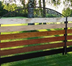 Забор ранчо Панель ограждения