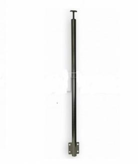 Готовая нержавеющая стойка с держателем и боковым крепежом арт 704